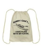 Kayaking - I Have Plans With My Kayak Drawstring Bag thumbnail