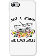 Canoeing - Just A Woman Who Loves Canoes Phone Case thumbnail