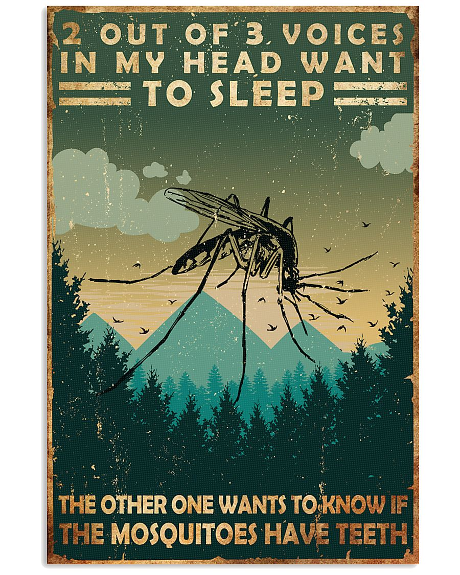 Camping 2 Out Of 3 Voices 11x17 Poster