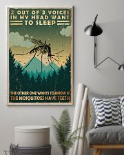 Camping 2 Out Of 3 Voices 11x17 Poster lifestyle-poster-1