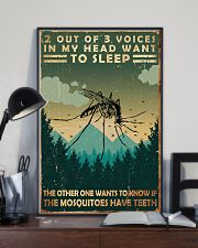 Camping 2 Out Of 3 Voices 11x17 Poster lifestyle-poster-2