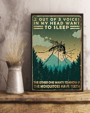 Camping 2 Out Of 3 Voices 11x17 Poster lifestyle-poster-3
