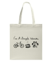 Cycle - I Am A Simple Woman Tote Bag tile