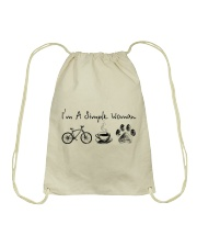 Cycle - I Am A Simple Woman Drawstring Bag tile