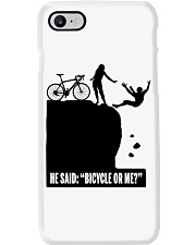Cycle - He Said: Bicycle Or Me Phone Case thumbnail