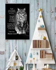 CAT I AM YOUR MAINE COON 16x24 Poster lifestyle-holiday-poster-2