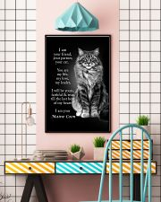 CAT I AM YOUR MAINE COON 16x24 Poster lifestyle-poster-6