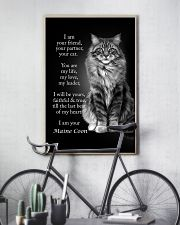CAT I AM YOUR MAINE COON 16x24 Poster lifestyle-poster-7