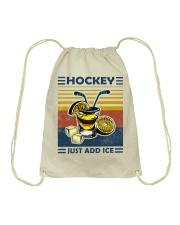 Hockey Tequila Ice Hockey Drawstring Bag thumbnail