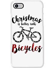 Cycle - Christmas Is Better With Bicycles Phone Case thumbnail