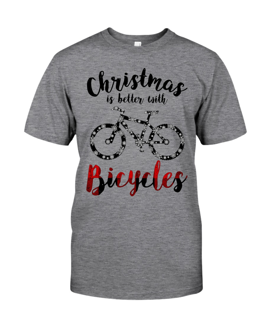Cycle - Christmas Is Better With Bicycles Classic T-Shirt