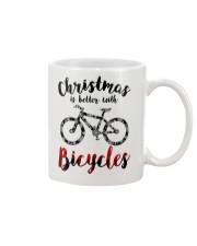 Cycle - Christmas Is Better With Bicycles Mug thumbnail
