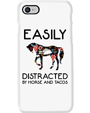 Horse - Easily Ditracted By Horse And Tacos Phone Case thumbnail