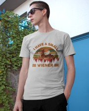 I Have Small Wiener Classic T-Shirt apparel-classic-tshirt-lifestyle-17