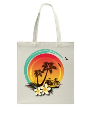 Cycle - Sunset Tote Bag tile