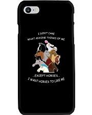 Horses - I Want Horses Like Me Phone Case thumbnail