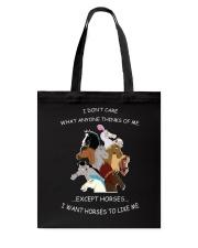 Horses - I Want Horses Like Me Tote Bag thumbnail