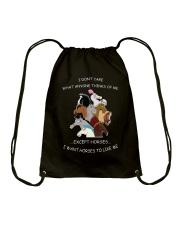 Horses - I Want Horses Like Me Drawstring Bag thumbnail