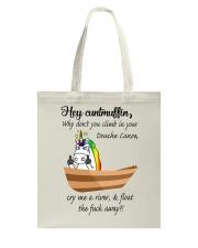 Canoeing - Hey Cuntmuffin Tote Bag thumbnail