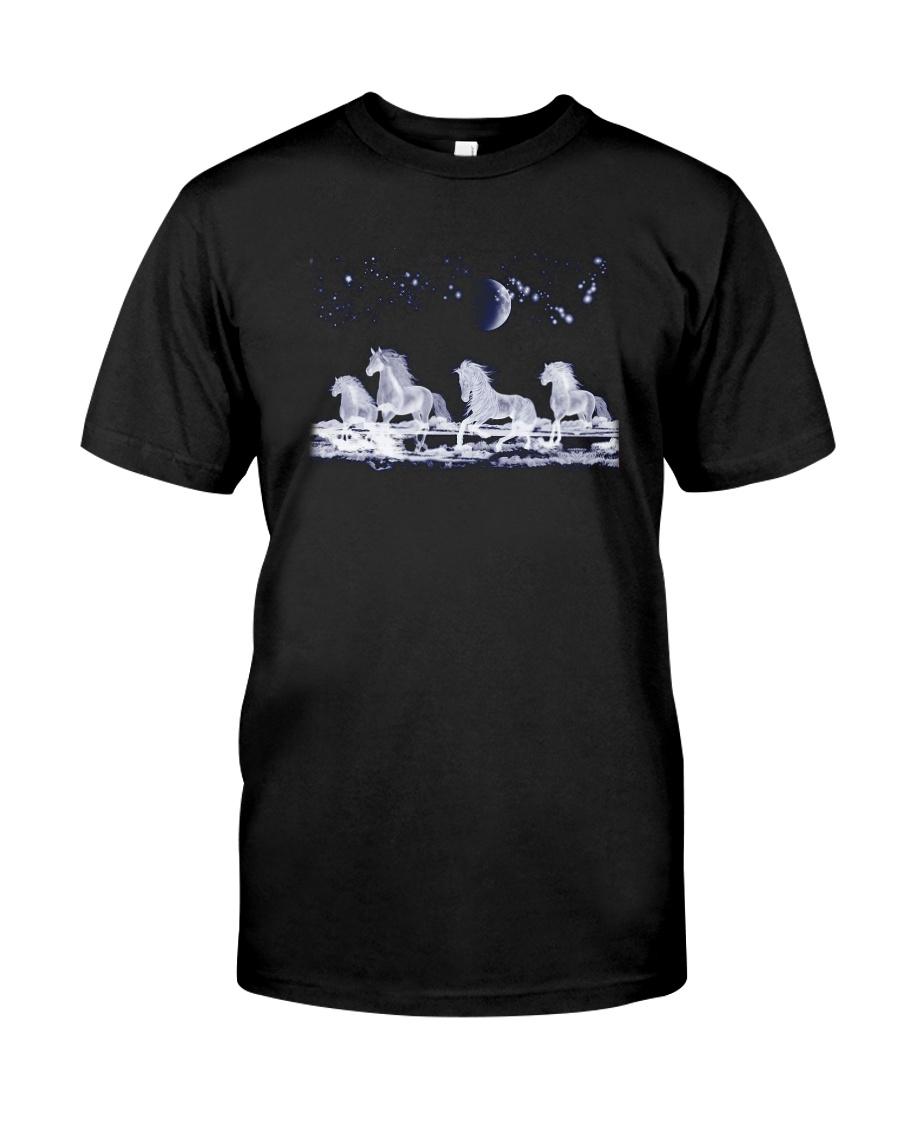 Horses - Horse White Classic T-Shirt