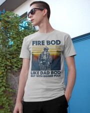 Firefighter Bod Like Dad Bod Classic T-Shirt apparel-classic-tshirt-lifestyle-17