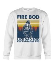 Firefighter Bod Like Dad Bod Crewneck Sweatshirt thumbnail