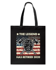 Father's Day Firefighter Legend Dad Tote Bag thumbnail