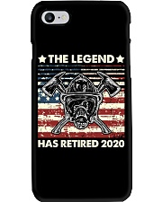 Father's Day Firefighter Legend Dad Phone Case thumbnail