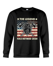 Father's Day Firefighter Legend Dad Crewneck Sweatshirt thumbnail