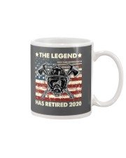 Father's Day Firefighter Legend Dad Mug thumbnail