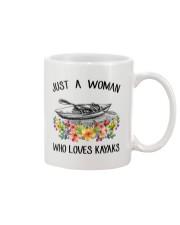 Kayaking - Just A Woman Who Loves Kayaks Mug thumbnail