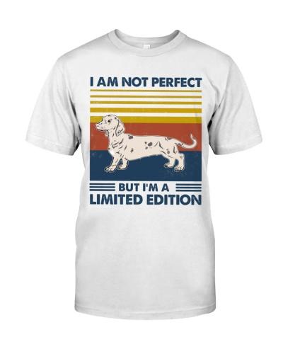 Dachshund I'm A Limited Edition White Dachshund