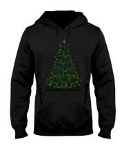 Dachshund - Christmas Tree Hooded Sweatshirt thumbnail
