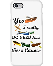 Canoeing - I Really Do Need All These Canoes Phone Case thumbnail