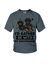 Be with my  dachshund Youth T-Shirt thumbnail