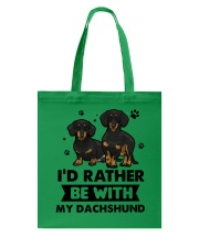 Be with my  dachshund Tote Bag thumbnail