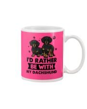 Be with my  dachshund Mug thumbnail
