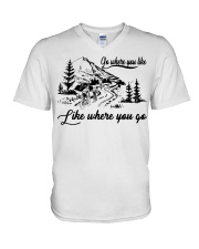 Cycle - Go Where You Like V-Neck T-Shirt thumbnail