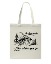 Cycle - Go Where You Like Tote Bag thumbnail