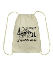 Cycle - Go Where You Like Drawstring Bag tile