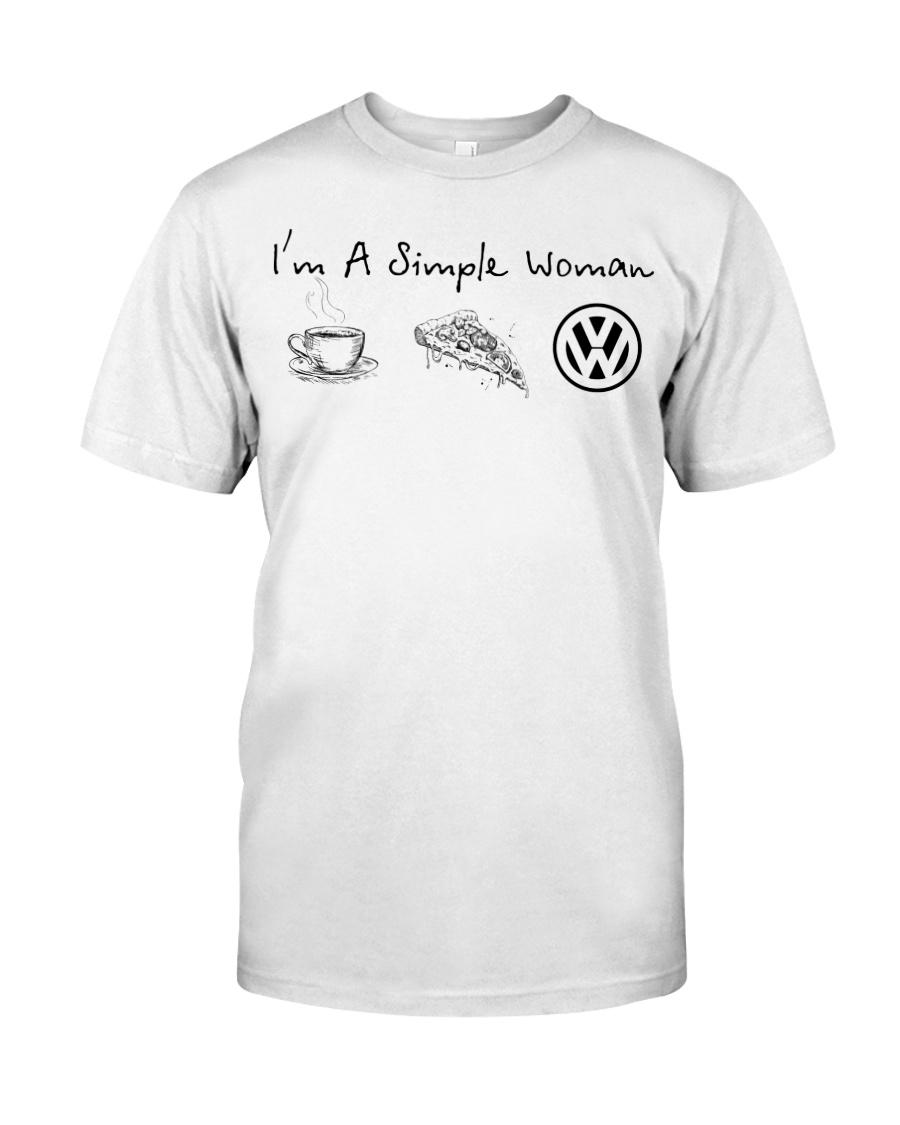 VW - I'm A Simple Woman Classic T-Shirt
