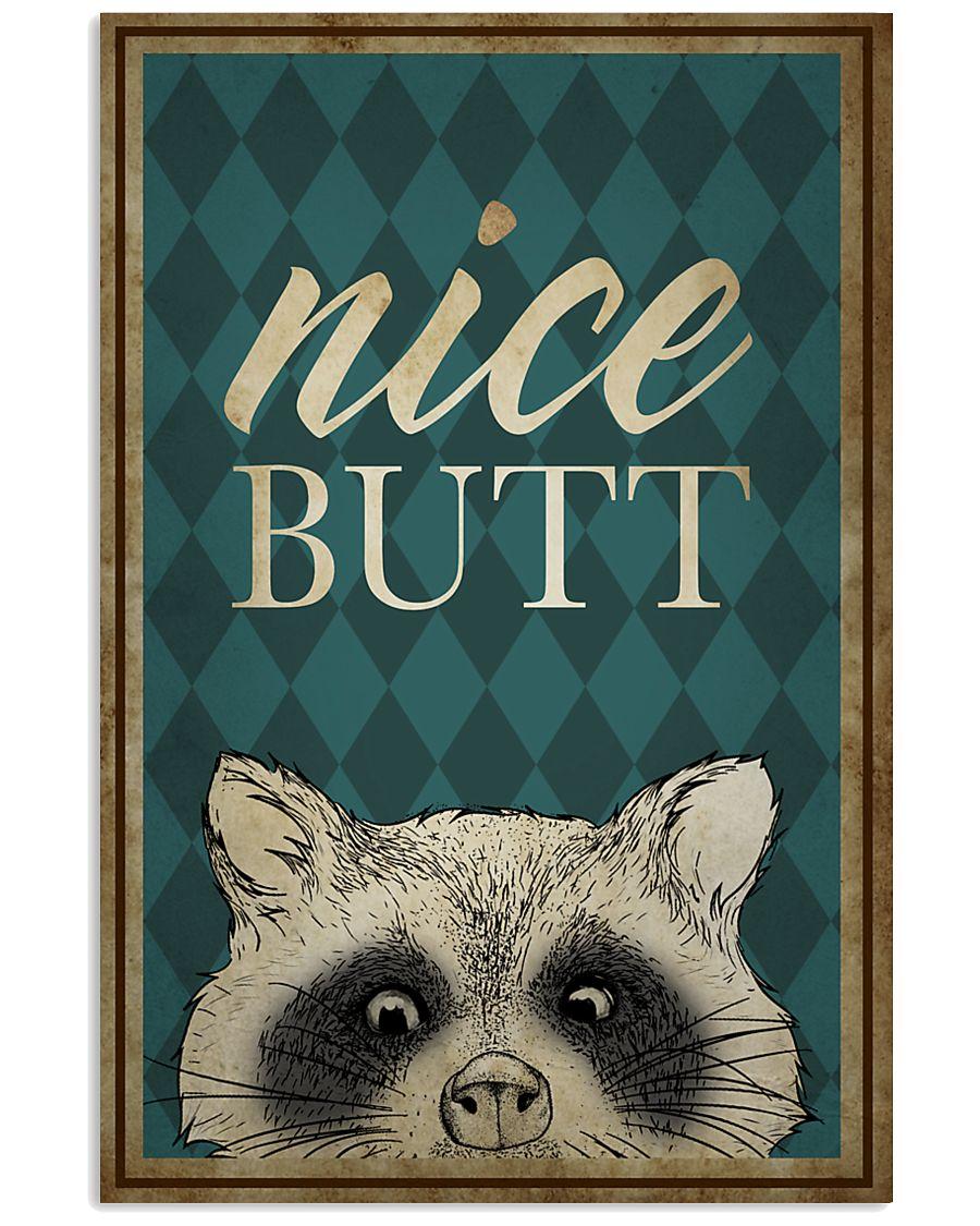 Raccoon Nice Butt Poster 16x24 Poster