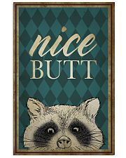 Raccoon Nice Butt Poster 16x24 Poster front