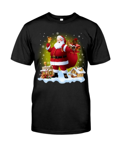 Dachshund - Merry Christmas - Gift Santa