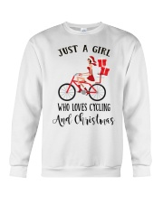 Cycle - Just A Girl Crewneck Sweatshirt tile
