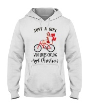 Cycle - Just A Girl Hooded Sweatshirt thumbnail