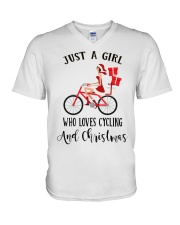 Cycle - Just A Girl V-Neck T-Shirt tile