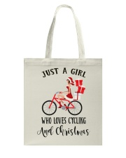 Cycle - Just A Girl Tote Bag tile
