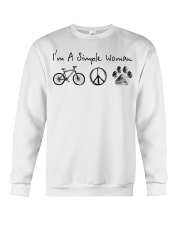 Cycle - I Am A Simple Woman Crewneck Sweatshirt thumbnail