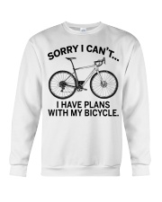 Cycle - I Have Plans With My Bicycle Crewneck Sweatshirt thumbnail
